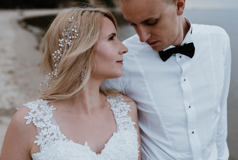 Wedding outdoor at the Baltic Sea